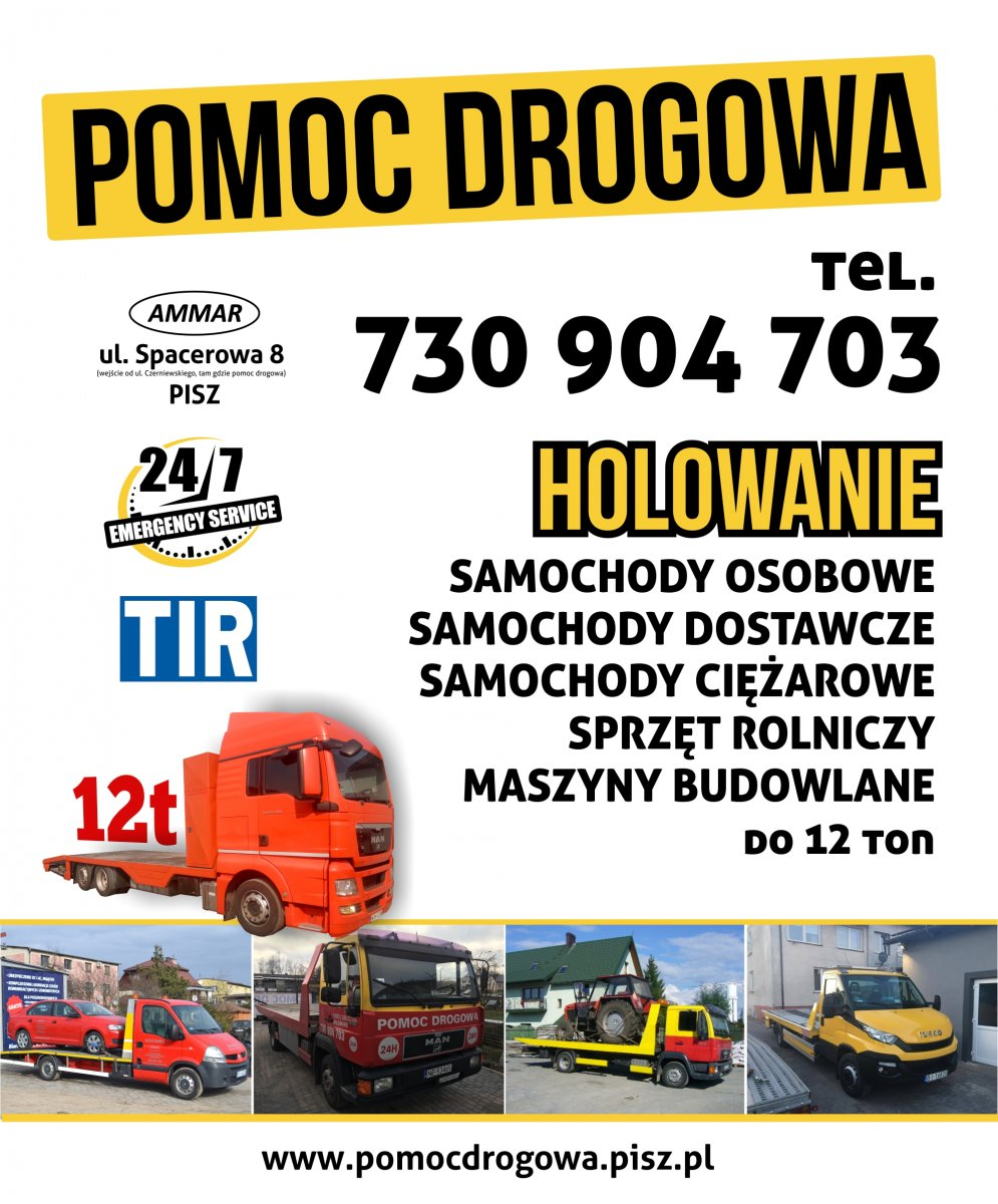 POMOC DROGOWA do 12 ton