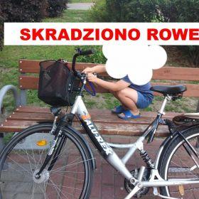 UWAGA ! Skradziono rower