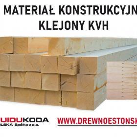 Materiał konstrukcyjny klejony KVH - PUIDUKODA POLSKA