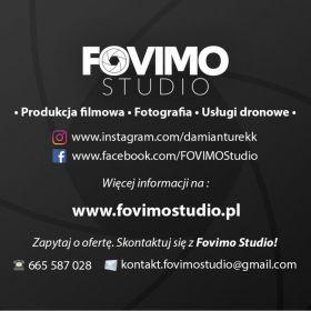 Fovimo Studio - Produkcja filmowa - Fotografia - Usługi dronowe
