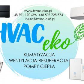 Klimatyzacja Montaż klimatyzacji Rekuperacja Pompy Ciepła HVAC-eko.pl