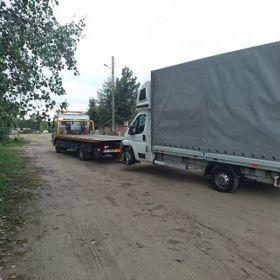 Holowanie ciężarówek Poznań