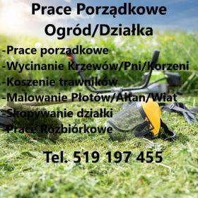 Prace Porządkowe Ogród/Działka