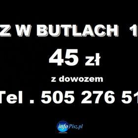 45 zł - z dostawą Gaz w butlach 11 kg