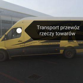 Transport Przeprowadzki przewóz towarów rzeczy