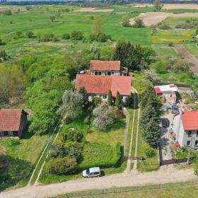 Mieszkanie z ogrodem, oczkiem wodnym w urokliwej wsi Dąbrówka