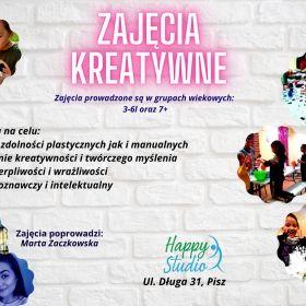 Zajęcia Kreatywne w Happy Studio