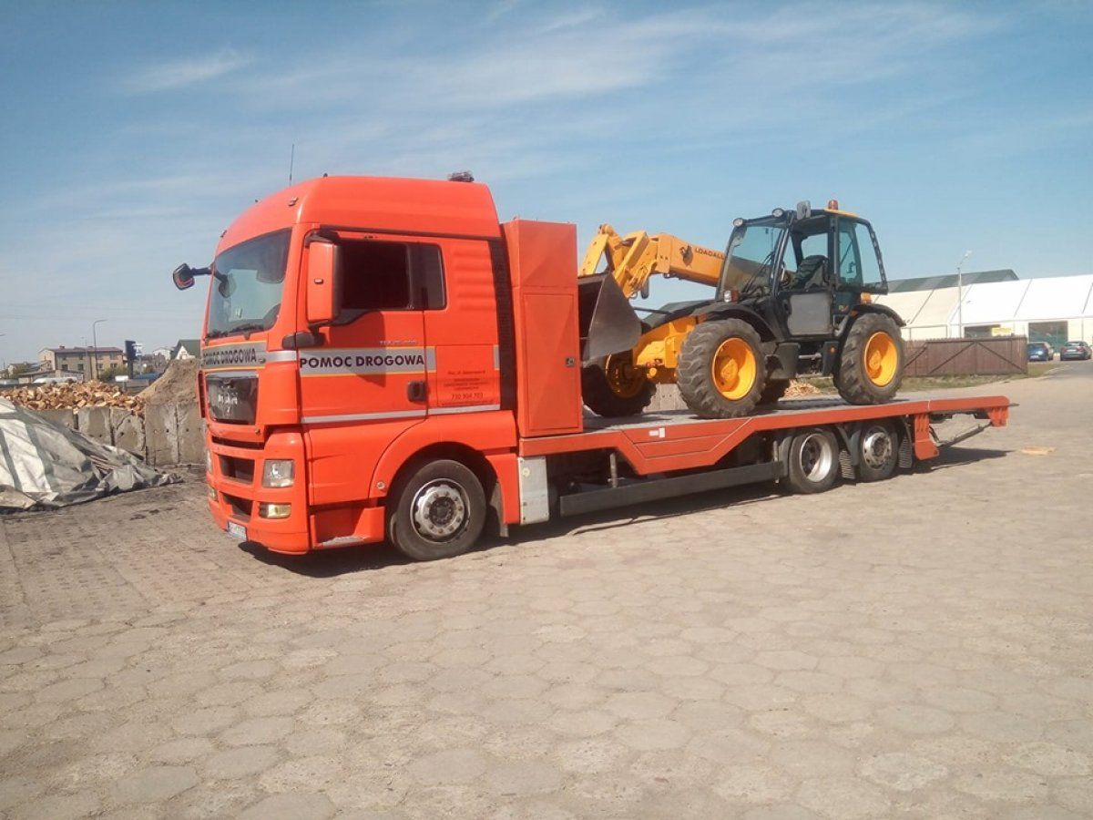POMOC DROGOWA do 12 ton