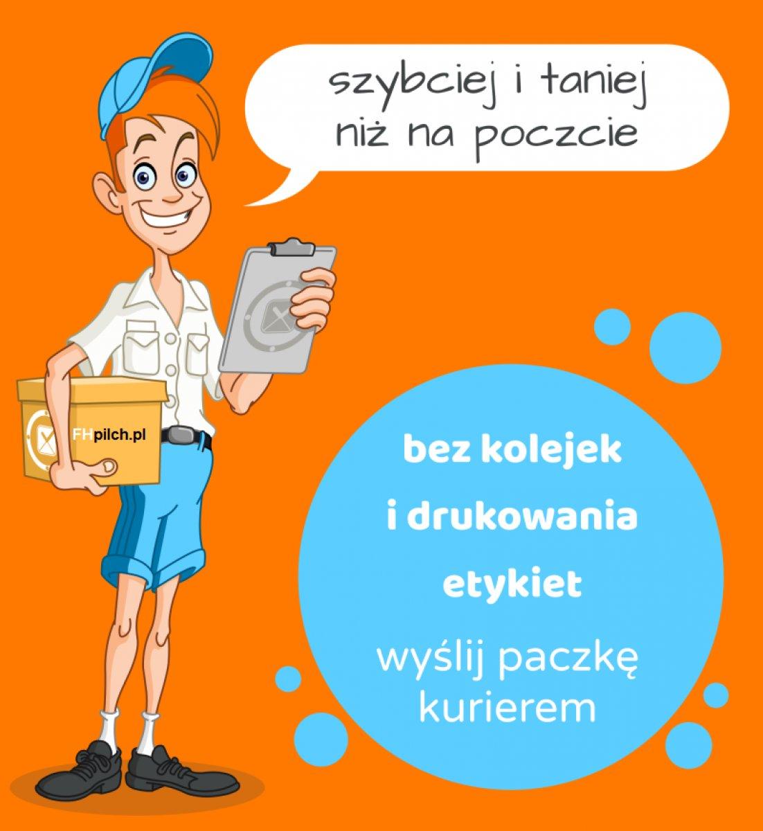 fhpilch.pl Usługa - wysyłka Kurier krajowy i zagraniczny