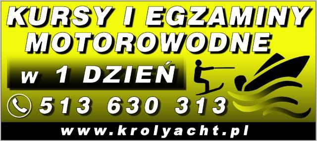 KROLYACHT - szkolenia i egzaminy motorowodne