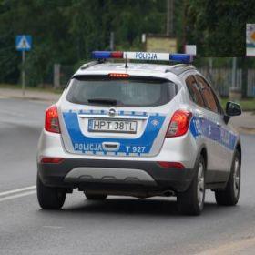 Motorowerzysta nie zatrzymał się do kontroli drogowej. Miał prawie 2,5 promila