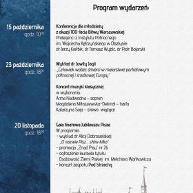 Muzeum Ziemi Piskiej wznawia obchody Jubileuszu Pisza