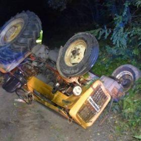 Podsumowanie weekendu to dwóch nietrzeźwych sterników i pijany traktorzysta