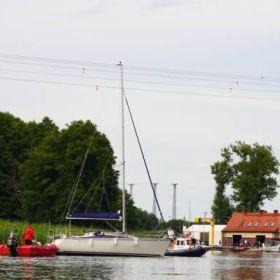 Dziś zamknięty dla ruchu wodnego odcinek rzeki Pisy między jeziorem Roś, a mostem